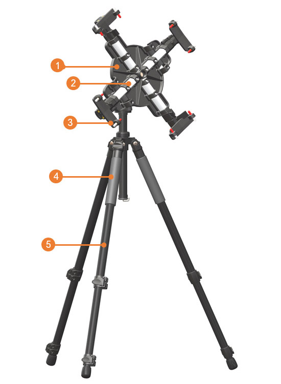 Easel specifications for artristic Studio easel
